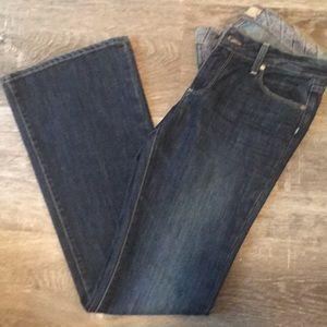 Paige Laurel Canyon boot cut jeans Size 30 dark